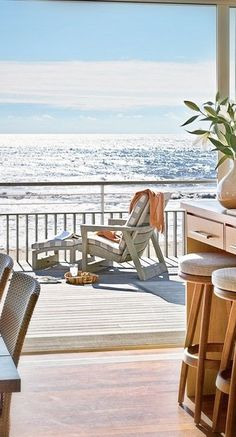 ....an ocean view....