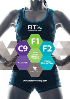 C9 - Forever F.I.T. is an advanced nutritional, cleansing and weight-management program designed to help you look and feel better in three easy-to-follow steps: Clean 9, F.I.T. 1 and F.I.T. 2. Clean 9 will help you begin to remove stored toxins from your body and feel lighter and more energized.