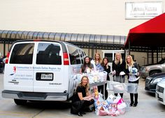 We'll have to make multiple trips to pick up all of the gifts donated by Neiman Marcus to our Adopt an Angel Program this year! They have pledged to make sure that 152 CISDR students can look forward to holiday gifts. Thank you Neiman Marcus, and a special thank you to Hayley Louden, our Adopt an Angel Chair.