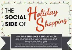 As the Holiday season approaches, consumers are preparing to shop. This article explains that not only are consumers planning to spend more this year during the Holiday season than ever before, but the majority of their shopping will be done online. Social Media will also lend a helping hand in helping consumers to choose what they want to buy. - Anthony R.