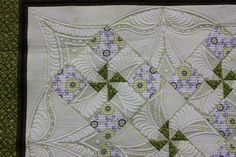 Lisa Calle... Look what quilting does to a really simple block
