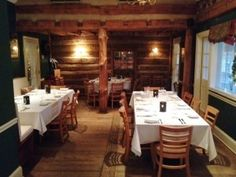 The Coachman's Room set for an event!