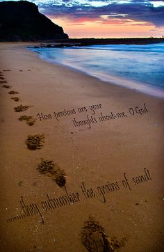 The times when you have seen only one set of footprints in the sand is when I carried you Footprints In The Sand Poem, Paint And Sip, Beach Ideas, Gods Grace, Chalkboard Signs, Travel List, Jesus Loves, Angel Wings, Under The Sea