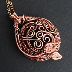 Vine Dance Copper Pendant | Flickr - Photo Sharing!