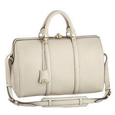 Sale Top Handles Leather Louis Vuitton SC Bag Calf Leather Creme M93457  Brand Fashion Louis Vuitton 430716ba36
