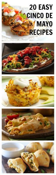 20 Easy Recipes for Cinco de Mayo