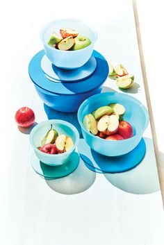 Prep, serve and store in our chic Expressions Bowl Set!