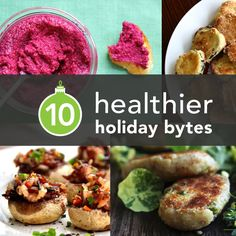 10 Healthier Holiday Bites from Around the Web