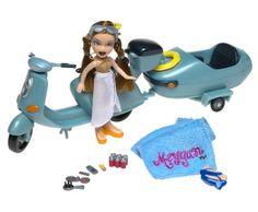 Lil' Bratz doll with beach bike. Cute! #lilbratz #bratz #dolls