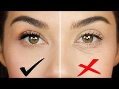 How To Cover Dark Circles and Bags Under Eyes | How to Color Correct | Eman - YouTube #darkeyecircles