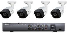 LTS LTD8504K-ST-CMHR6452N 5MP H.265/H.265+ HD-TVI 4CH 5 in 1 DVR KIT / 4 Bullet Cameras / 2TB HDD