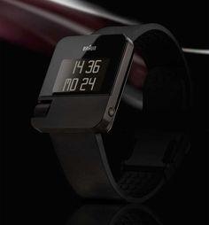 Braun Digital Watch Gets Analog Scroll Wheel