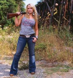 Girls with Guns, have more fun!