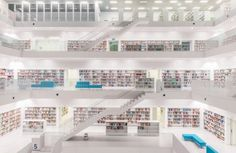 """""""The Stadtbibliothek Municipal Library"""" by Rc Concepcion www.AboutRC.com"""