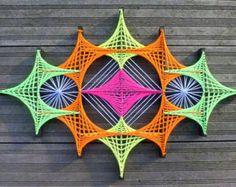 Cadena arte de ojo mágico por DeRevesEnReves en Etsy