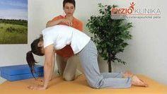 Cvičení Ludmily Mojžíšové pro uvolnění páteře Tight Neck, Sciatica, Pole Dancing, Excercise, Back Pain, Pilates, Beach Mat, Health Fitness, Workout