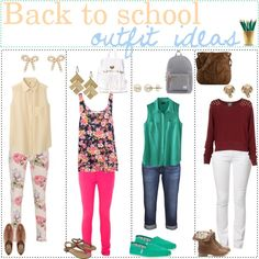 BACK TO SCHOOL OUTFiT iDEAS;* by thepolyvoretipgirls on Polyvore featuring Uniqlo, Pull&Bear, Merona, Replay, Denim & Supply by Ralph Lauren, Jack Wills, AG Adriano Goldschmied, ASOS, TOMS and Black Poppy