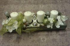 Gerbera, Pillar Candles, Christmas Ideas, Home Decor, Blog, Xmas, Lily, Decoration Home, Room Decor