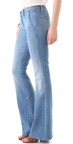 $212 Mother Denim The Curfew Prep Bell Jeans in French Quarter - Size 24 x 33 #motherdenim #motherjeans #boutiquedenim What Is Hot, Mother Denim, French Quarter, Slacks, Bell Bottom Jeans, Online Price, Cool Pictures, Prepping, Boutique