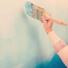 Tutoríal para pintar cabecero degradado
