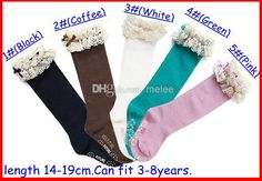 Thorlos #Socks 2016 Baby Girl Lace Top Socks Kids Stockings Classic Knee Boot High Socks With Lace Solid Color Cotton Socks Choose Freely Melee Champion Socks From Melee, $1.47| Dhgate.Com