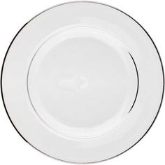 Find this Pin and more on Galvan Dinner. White with double silver band dinner plate.  sc 1 st  Pinterest & Lucca Off White Dinner Plate 10.75\