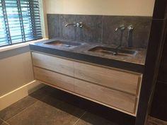 Luxury bathroom furniture solid oak by K E N G E R