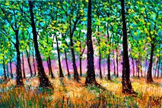 Buy New Forest Walk IV, Acrylic painting by Paul J Best on Artfinder. Discover thousands of other original paintings, prints, sculptures and photography from independent artists.