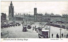 Liverpool from The Landing Stage Southport, Liverpool, Landing, Paris Skyline, Stage, Prints, Travel, Viajes, Destinations
