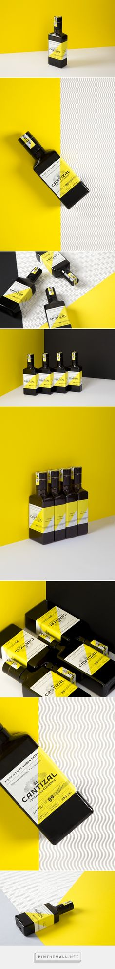 El Cantizal Extra Virgin Olive Oil packaging design art directed by Alice Pesenti - http://www.packagingoftheworld.com/2017/01/el-cantizal-extra-virgin-olive-oil.html