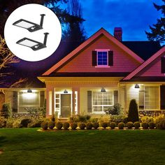 Solar Powered 36 LED PIR Motion Sensor Waterproof Street Security Light Wall Lamp for Outdoor Garden Strip Lighting, Outdoor Lighting, Holiday Lights, Solar Lights, Solar Power, Outdoor Gardens, Wall Lights, Led, Street