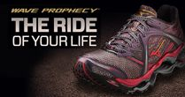 Mizuno - will never wear another pair of running shoes!