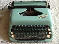 1963 Consul Comet on the Typewriter Database