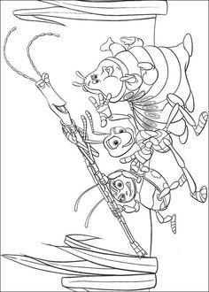Bugs Life Coloring Page 3 Is A From BookLet Your Children Express Their Imagination When They Color The