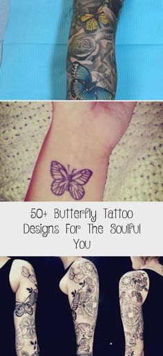 #Art #Body #Butterfly #Designs #Soulful #Tattoo #Tattoos