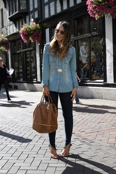 lala-noleto-jeans-london-2 Women´s Fashion Style Inspiration - Moda Feminina Estilo Inspiração - Look - Outfit