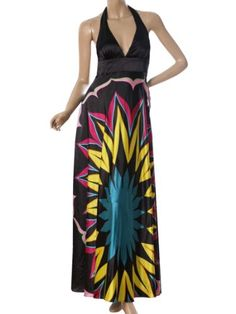 """Ever Pretty Empire Waist Padded Floral Print Sexy Plunge V-neck Prom Dress 09613Gorgeous colorful halter long evening dress.Sexy v-neck style.Padded enough for """"no bra"""" option.Unique floral printed make it more exquisite.More dresses! More pretty! Click here  to find more Ever-Pretty Fashions! About Ever-Pretty:Welcome to Ever-Pretty, your online fashion consultant! Ever-Pretty is an international brand, built up..."""