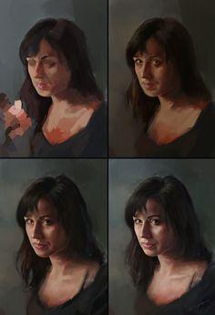 ArtStation - Her portrait, Mateusz Lenart