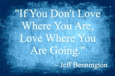 Inspirational Quote by Jeff Bennington, bestselling author of Reunion, Twisted Vengeance and The Indie Author's Guide to the Universe.