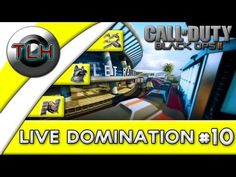 BLACK OPS 2 Live Domination : Emptying Lobbies ! (Hunter w/FaceCam)