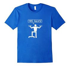 Men's Exercising Sucks Funny T-Shirt Large Royal Blue i-C... https://www.amazon.com/dp/B06XBSTWN2/ref=cm_sw_r_pi_dp_x_s6nTybVDVHB7B