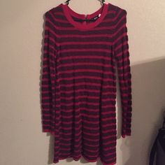 Urban Outfitters BDG Sweater Dress BDG sweater dress from urban outfitters. Super cute on (shown in last pic)!! Perfect condition--worn one time for Christmas Eve. Very flattering and comfy. Size Small. BDG Dresses Long Sleeve
