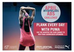 April Plank Challenge! #FFAprilAbs #Fitfluential