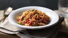 BBC Food - Recipes - Tuna pasta sauce with linguine