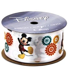"""Offray Mickey Mouse 1 1/2"""" Ribbon"""