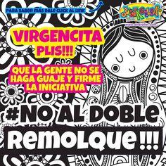 Plis échales la mano y di #NoAlDobleRemolque