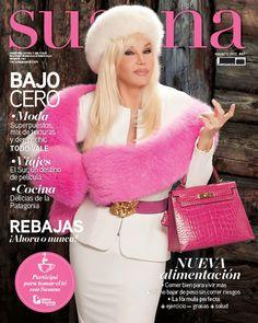 ¡YA SALIO! La revista de Susana Gimenez de agosto. Moda bajo cero: superpuestos, mix de texturas y denim chic. ¡Imperdible! TW @Su_Gimenez @revistasusana
