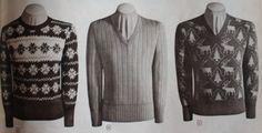11940s Men's Sweaters