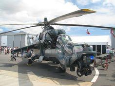 Mi 24 Super Hind Helicopter.