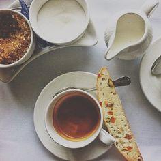 biscotti + coffee // amy farrell